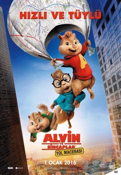 Alvin ve Sincaplar 4 Yol Macerası izle